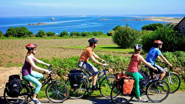 Lézardrieux - rando à vélo entre amis