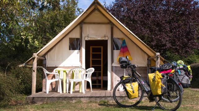 Hébergement de plein-air vélo