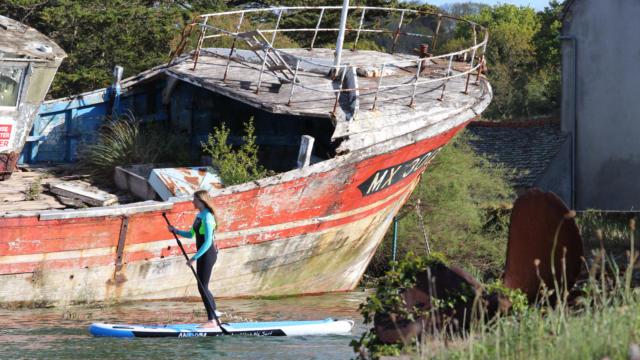 SUP Surfing Plougasnou - Baie de Morlaix