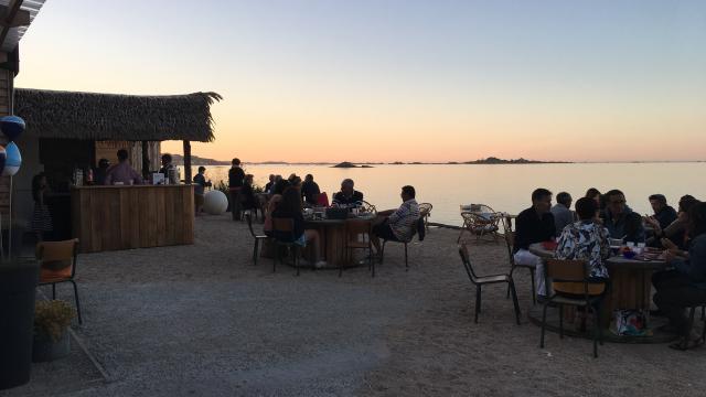 Ferme Marine Paimpolaise - Coucher de soleil