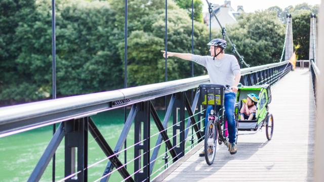 Balade à vélek'tro en famille - Le Trégor