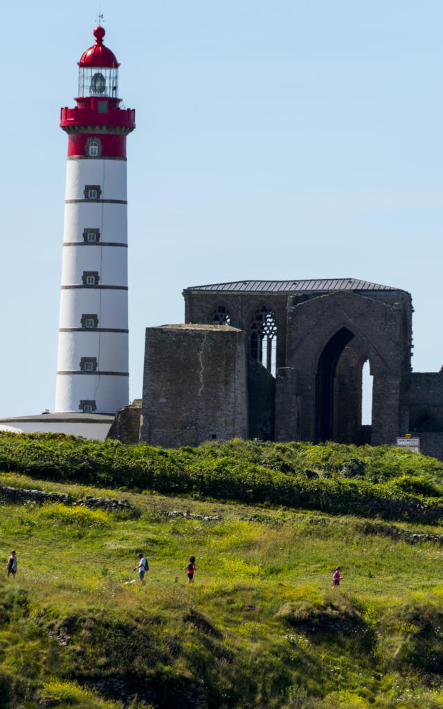 Pointe Saint Mathieu et son phare a Plougonvelin
