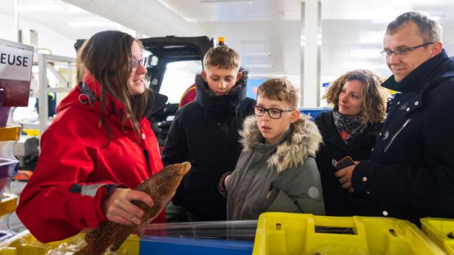 Visite de la criée de Lorient