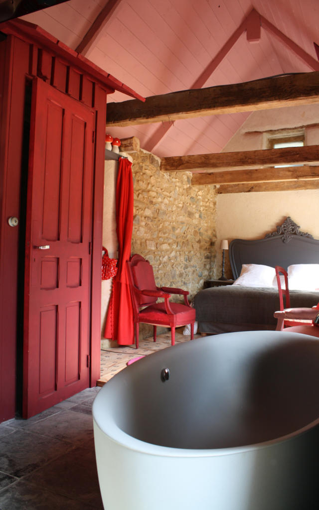 Salle de bain à la Maison des Lamour - Saint-Brieuc