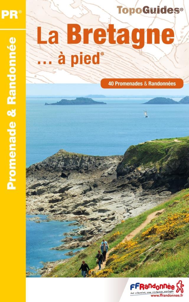 Topo-guide La Bretagne à pied