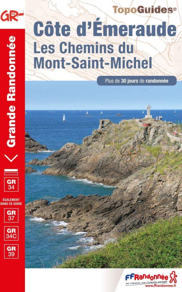 Topo-guide Côte d'Emeraude : les Chemins du Mont Saint Michel
