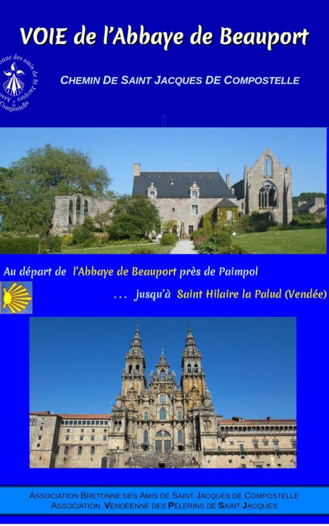 Chemin de Saint-Jacques de Compostelle - Voie de l'abbaye de Beauport