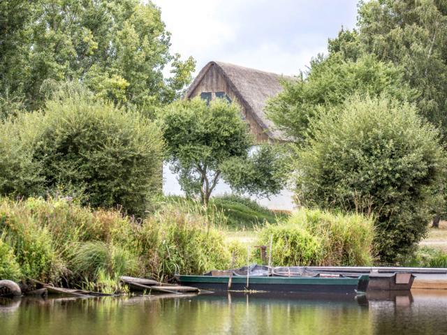 Marais de Brière, maison en toit de chaume