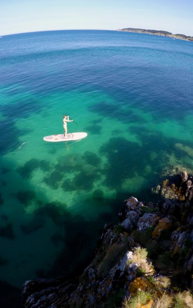Paddle à Belle île