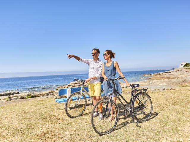Balade à vélo - Le Guilvinec