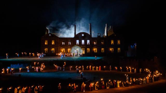 Spectacle sons et lumières de Bon-Repos
