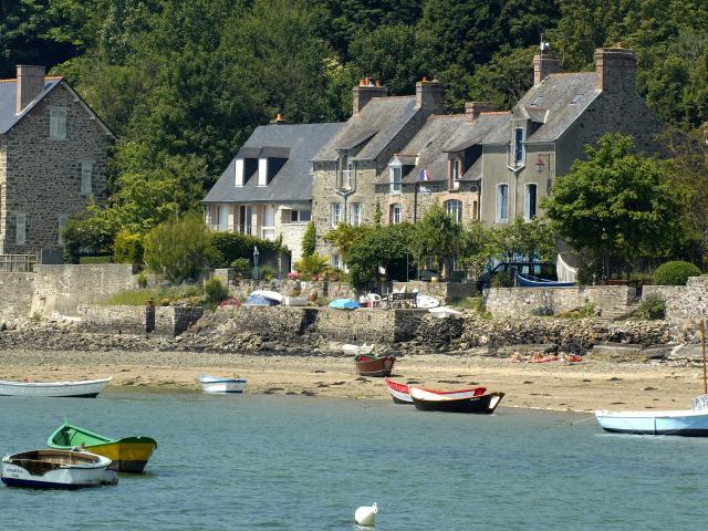 Vue sur la Rance maritime - Saint-Suliac