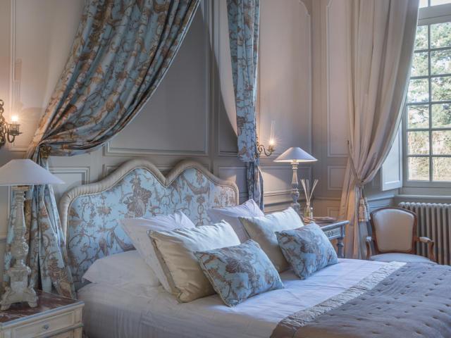 La chambre Diane - Château de La Ballue