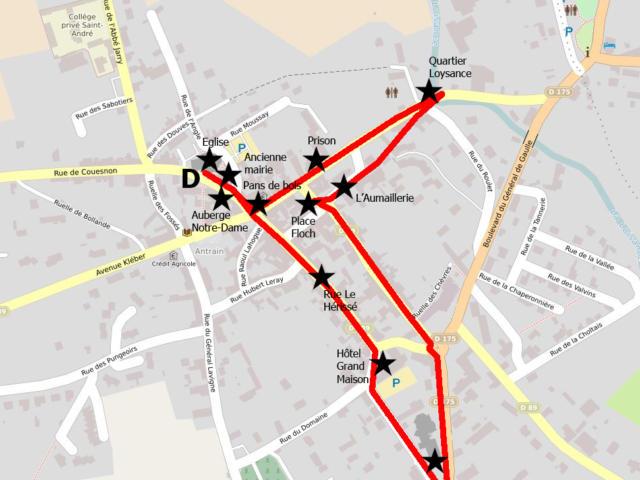 Circuit A La Decouverte Du Temps Passe Antrain