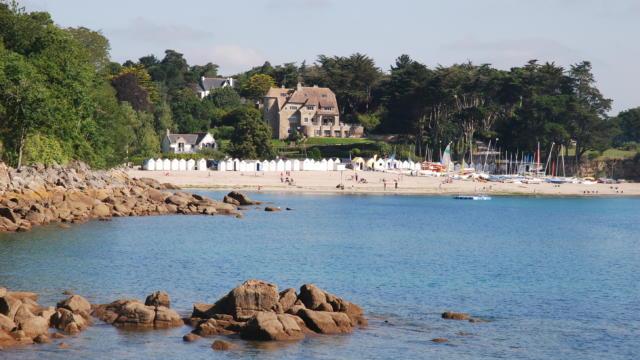 Manoir Dalmore - Nevez - plage de Port Manec'h