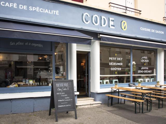 café-resto Code Ø à Lorient - vue extérieure