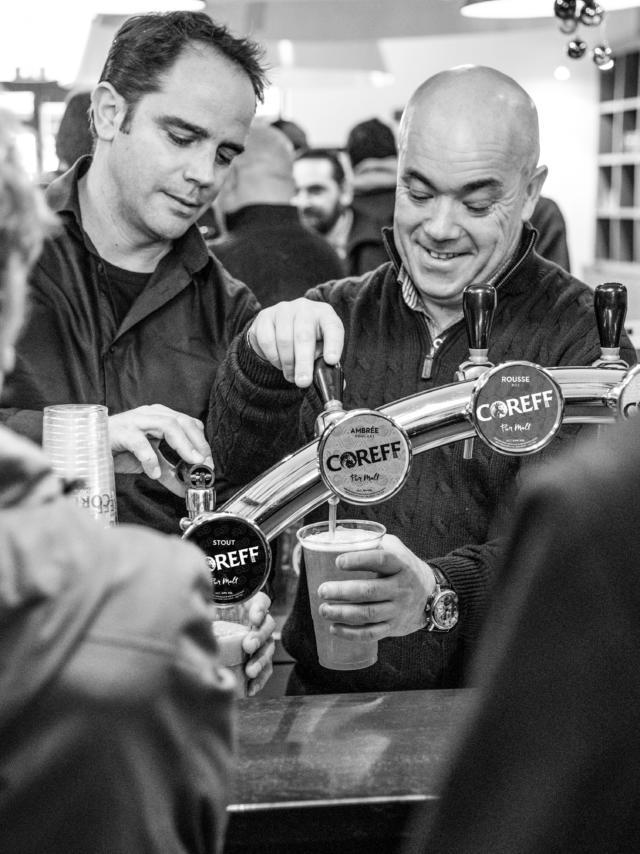 Dégustation de bières Coreff