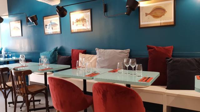 Décoration intérieure restaurant Le Peska à Rennes