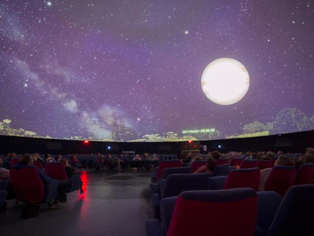 Espace des sciences - Salle La Nuit étoilée - Rennes