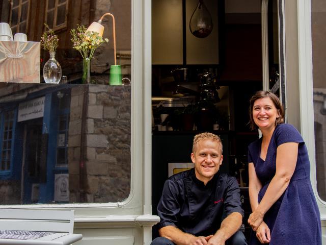 Baptiste et Marine du restaurant L'Empreinte à Vannes