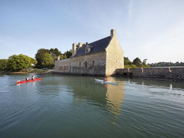 Arzon - presqu'île de Rhuys - moulin de Pen Castel - balade en kayak