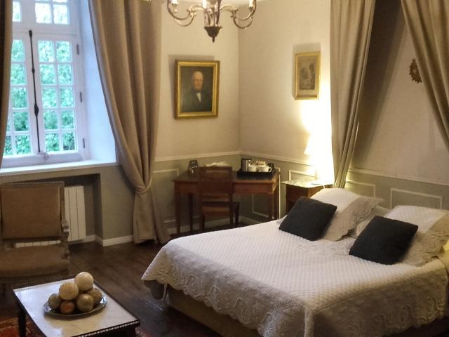 Manoir de La Baronnie - chambre - Saint Malo