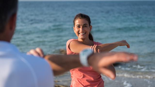 Quiberon - séance de coaching sur la plage - Morbihan
