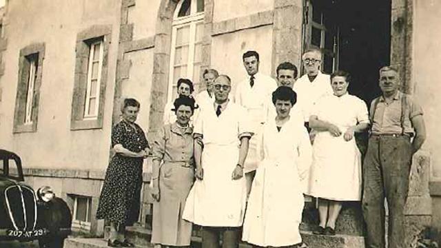 Equipe du docteur Bagot à Roscoff