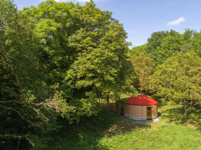 Domaine Treuscoat - Pleyber-Christ - Yourte en pleine nature
