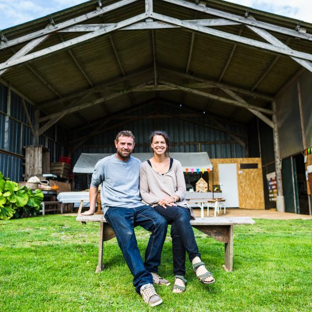 Pont-Melvez, Gwendoline et Jimmy Jourdain - Jardin Mod-kozhOffice de Tourisme Guingamp - Baie de Paimpol