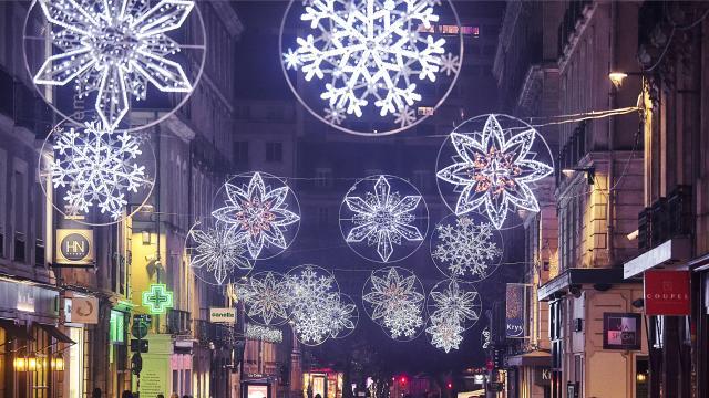 Rennes - Illuminations de Noël