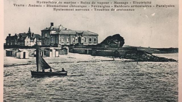 L'institut de Rockroum qui deviendra la thalasso de Roscoff