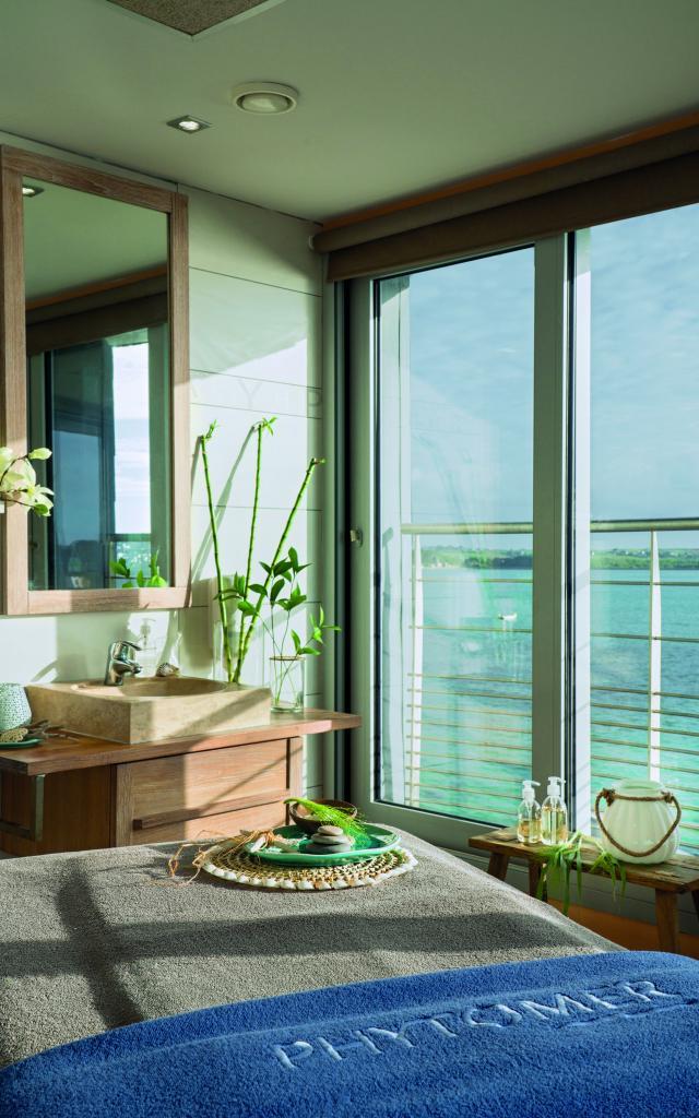 Thalasso Valdys Resort Roscoff - chambre vue mer