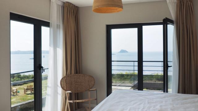 Hôtel Roc'h Ar Mor - Ouessant - chambre vue mer