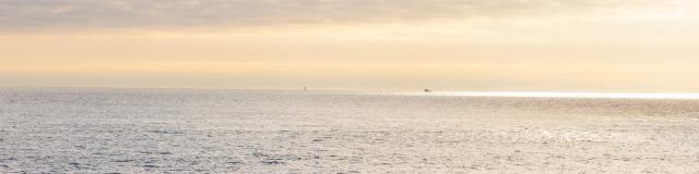 Surfeurs sur la plage du Minou - Locmaria-Plouzané - près de Brest