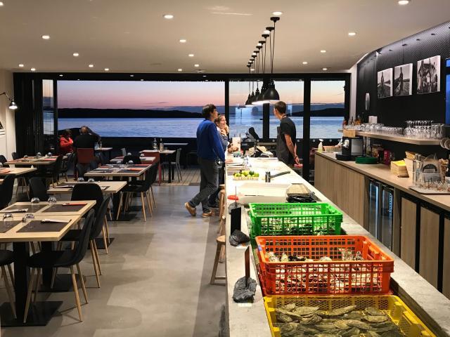 Bar à huîtres Maison Legris à Plouguerneau