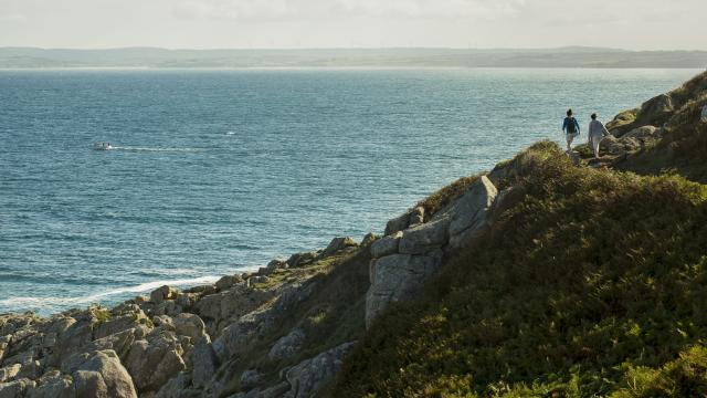 La pointe de la Jument a Poullan-sur-Mer - près de Douarnenez