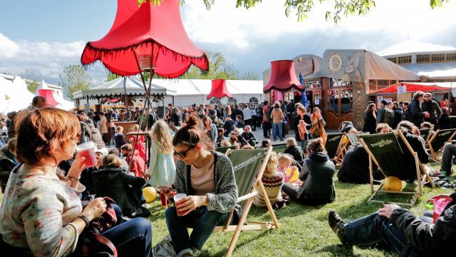 Festival Mythos - au parc du Thabor - Rennes