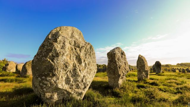 Carnac - Alignement de menhirs