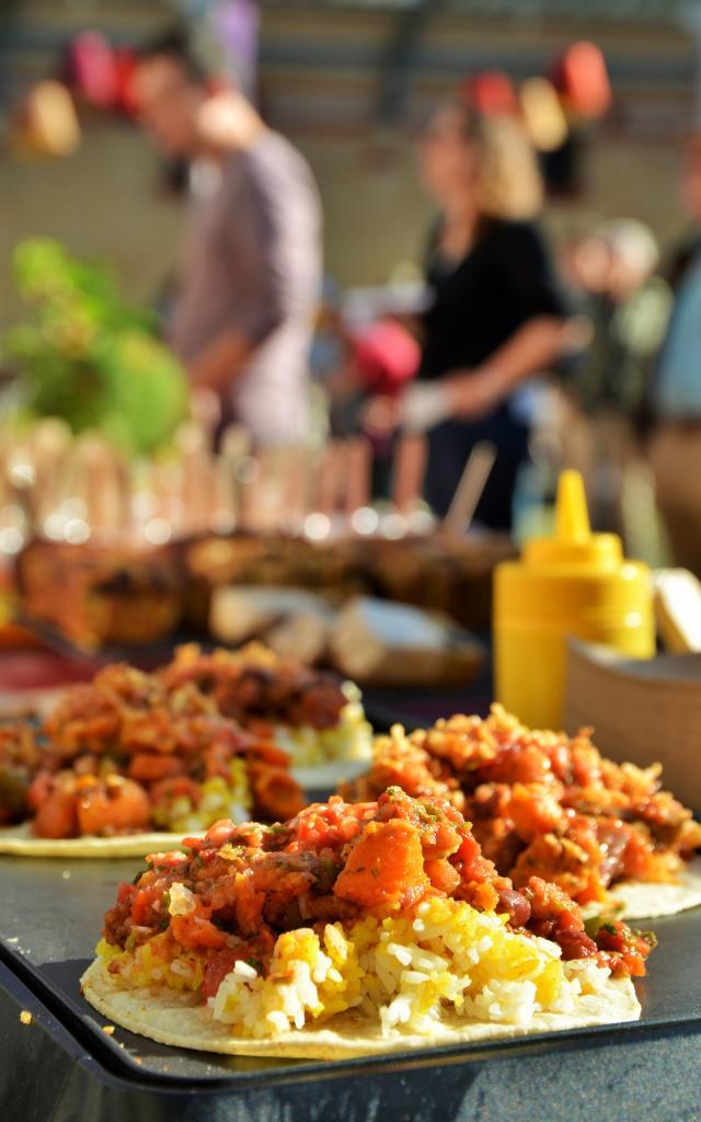 Street food au Marché à Manger - Rennes