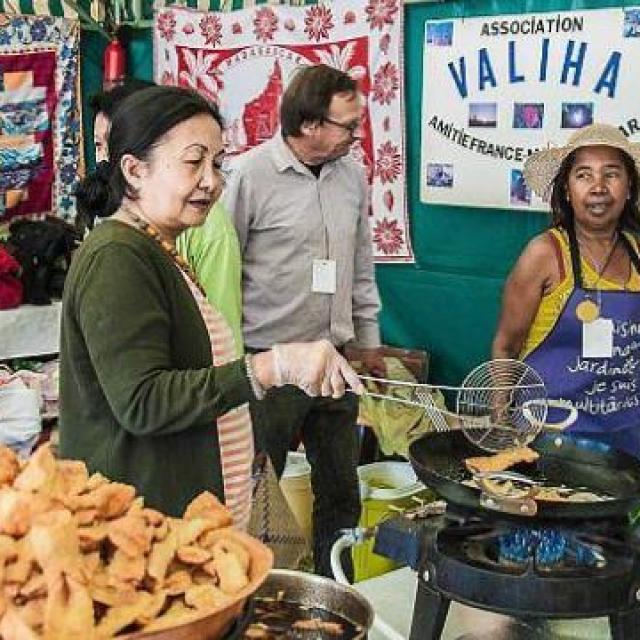 Festival Les Galettes du Monde - cuisine solidaire