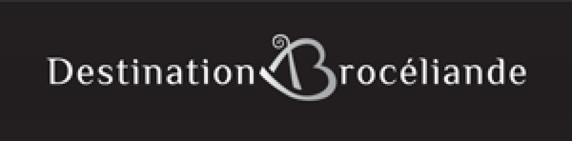 Logo Destination Broceliande Fond Noir