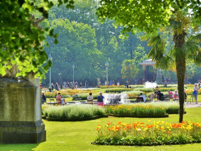 Rennes Jardin Du Thabor Franck Hamon