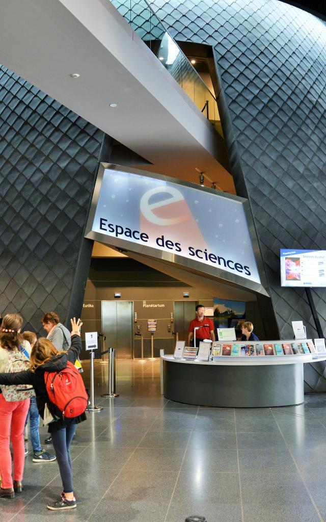 Rennes - Les Champs Libres - Espaces des sciences