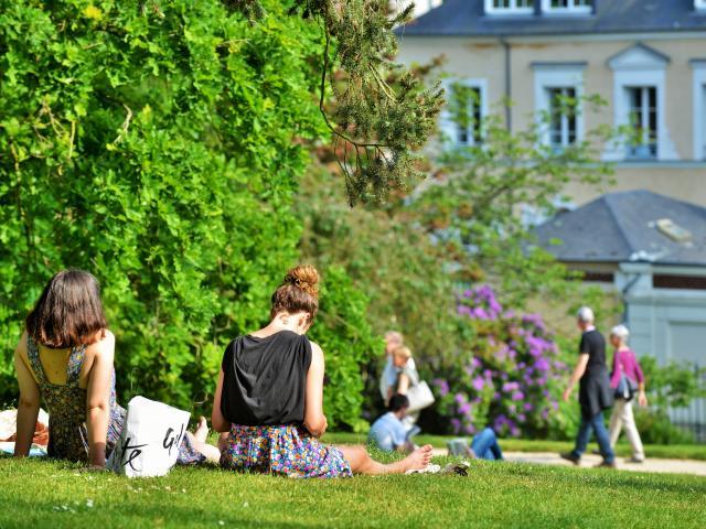 Rennes - Pause au Jardin du Thabor