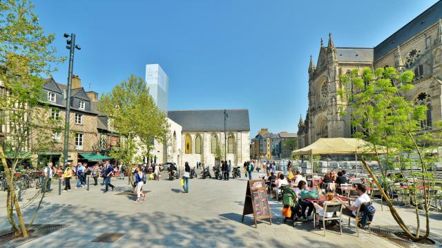 Rennes - Place Sainte Anne