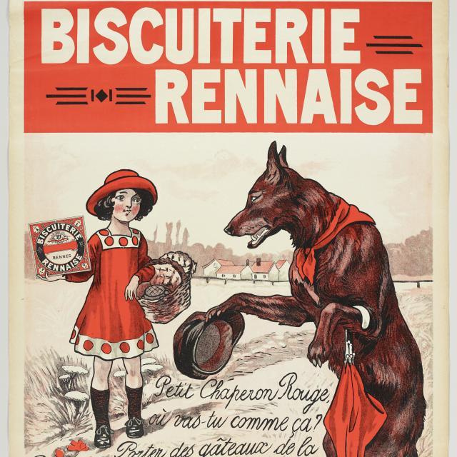 Musée de BretagneLa biscuiterie rennaise - Affiche