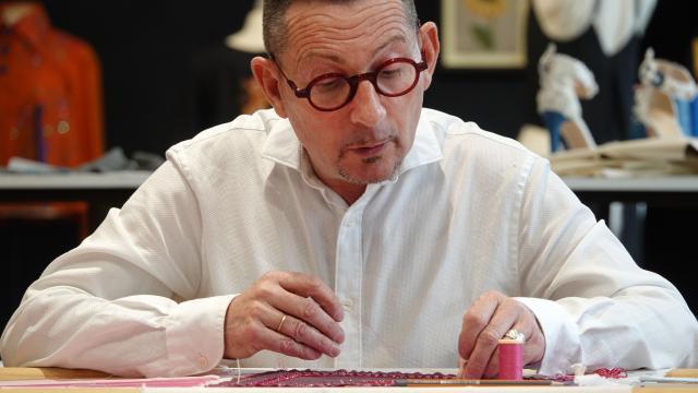 Pascal Jaouen - Ecole de broderie d'art - Quimper