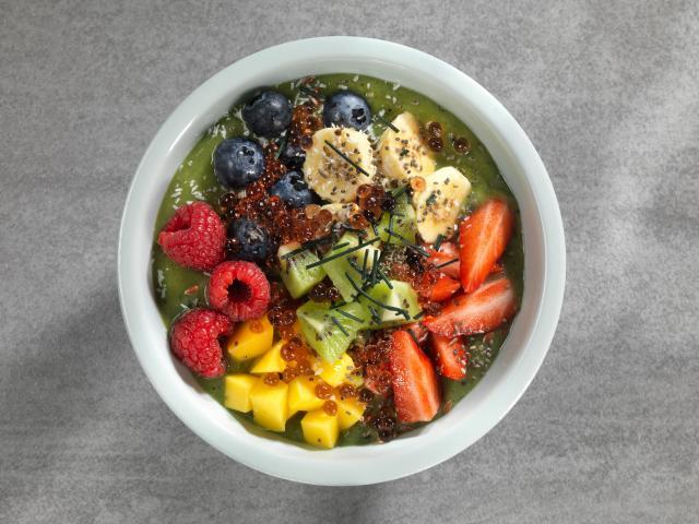 Salade de fruits et algues