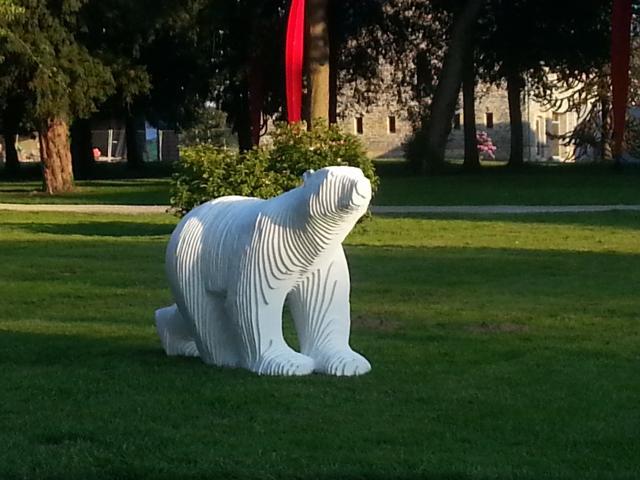 Château des Pères - Michel Audiard, l'ours, hommage á Pompon